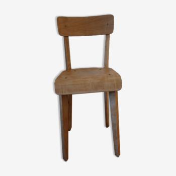 Chaise enfant 1950 385mm vitrifiée