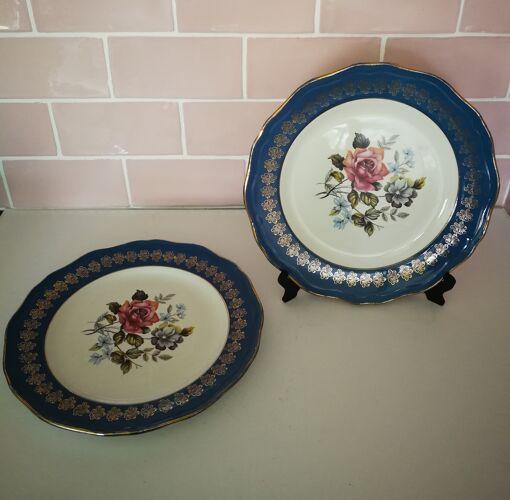 2 assiettes plates L'Amandinoise St Amand