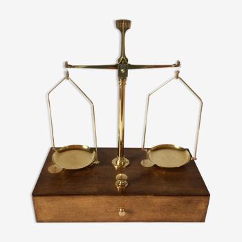 Balance de précision trébuchet de pharmacie/laboratoire xx°