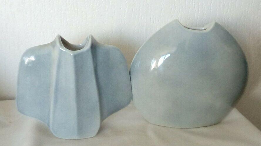 Vases en porcelaine de Virebent