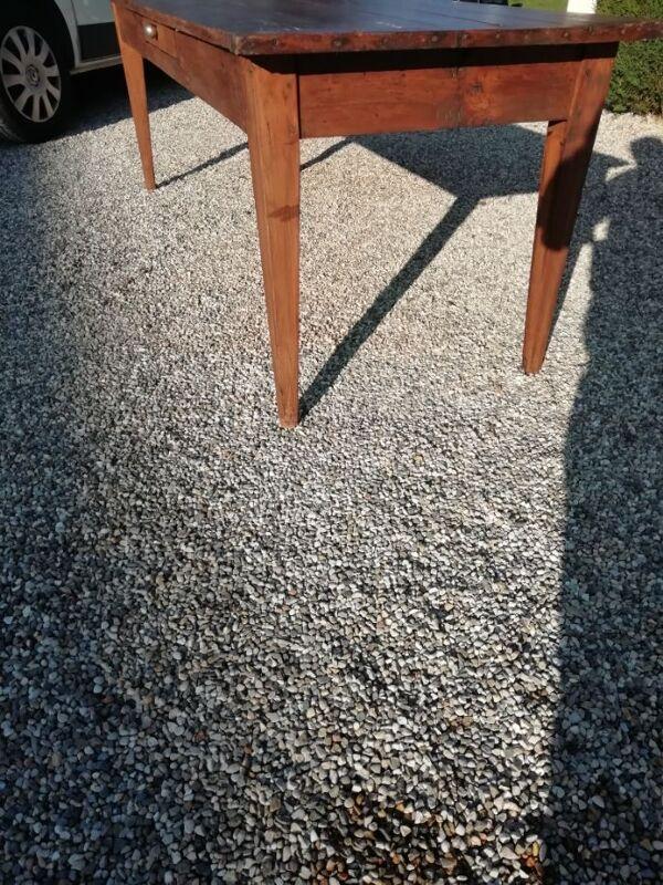 Table de Ferme ancienne sapin