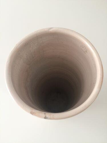"""Vase rouleau vintage, céramique signé M.F """"La Thuilière"""""""