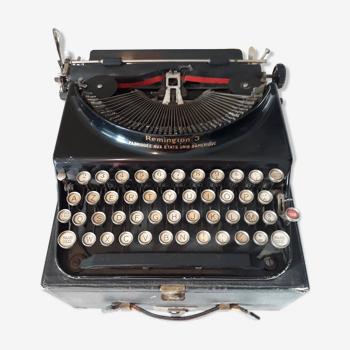 Machine à écrire Remington 3 - période Hemingway - années 30