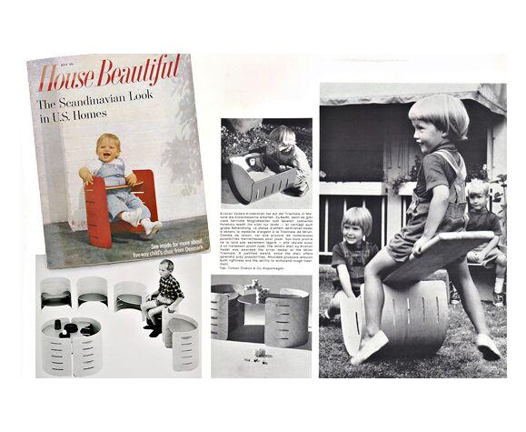 Chaise Kristian Vedel pour enfants