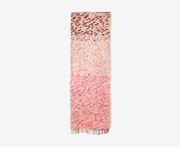 Tapis berbere vintage boujaad 250 x 88 cm