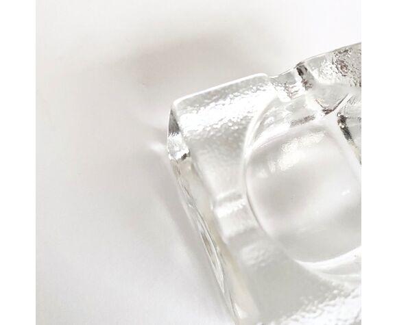 Cendrier verre vintage 70