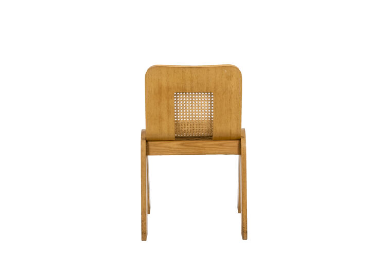 Série de quatre chaises en contreplaqué, Gigi Sabadin, années 1970