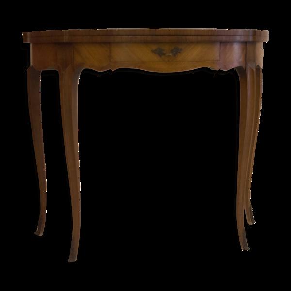 Table de jeux de style Louis XVI époque 19e/20e