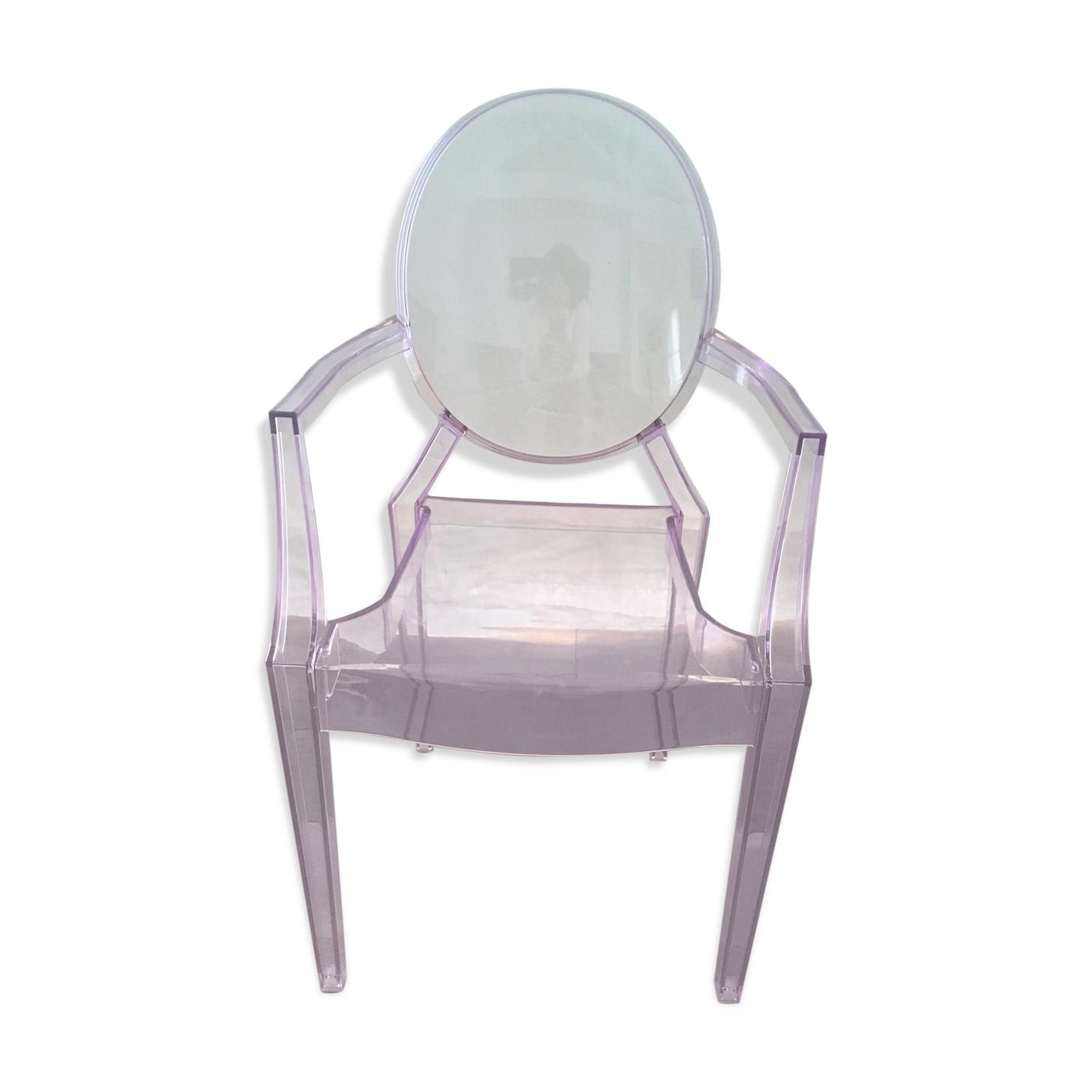 Chaise enfant Lou Lou Ghost de Philippe Starck