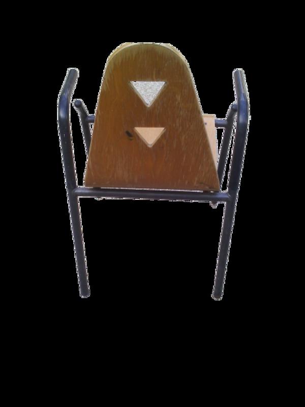 4 fauteuils années 50