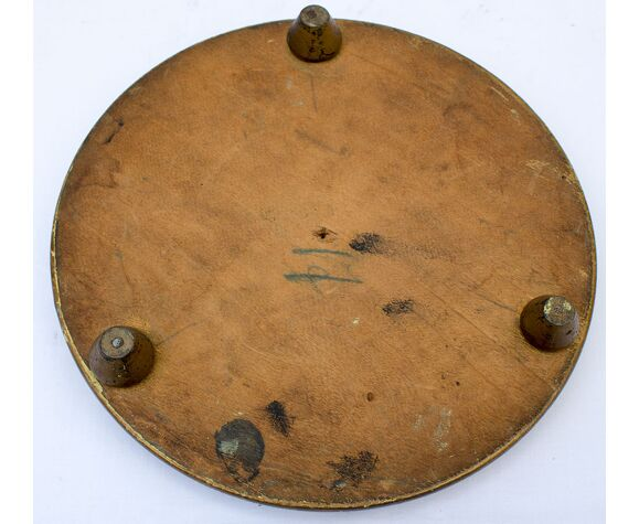 Antique globe en verre rond 41 x 16,5 cm