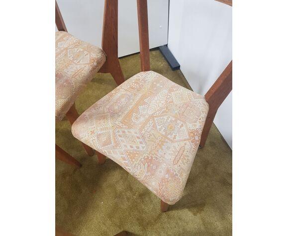 4 chaises Guillerme et Chambron