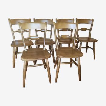 Chaises Interior's à barreaux