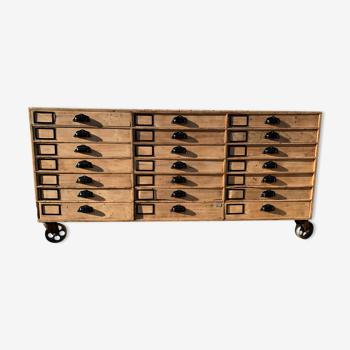 Meuble d'atelier 21 tiroirs