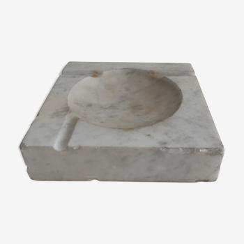 Grey marble ashtray