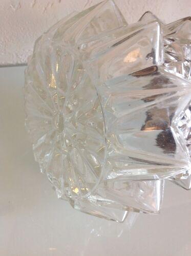Applique en verre structuré par RZB Leuchten, vintage années 60/70