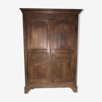 Armoire style Louis XV campagne