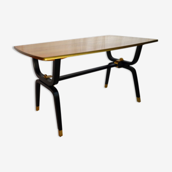 Varnished pear coffee table