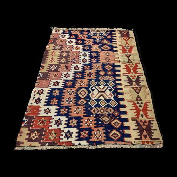 Tapis vintage turc kilim 118x86 cm