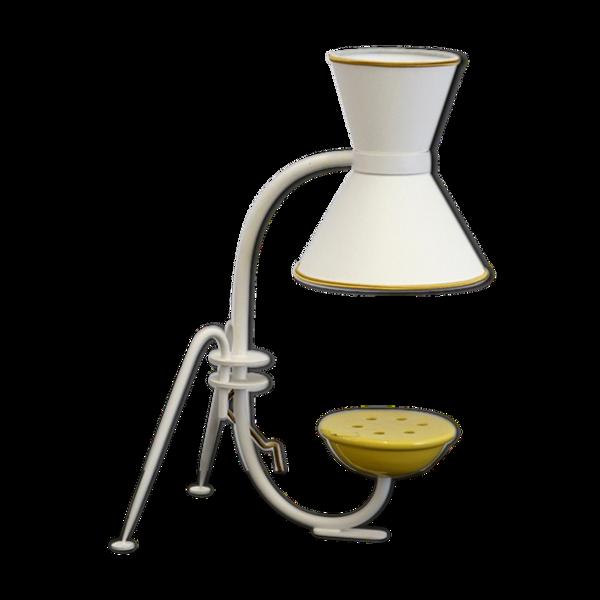 Lampe de table pique-fleur mod. F633 de René Mathieu pour Lunel, 1953