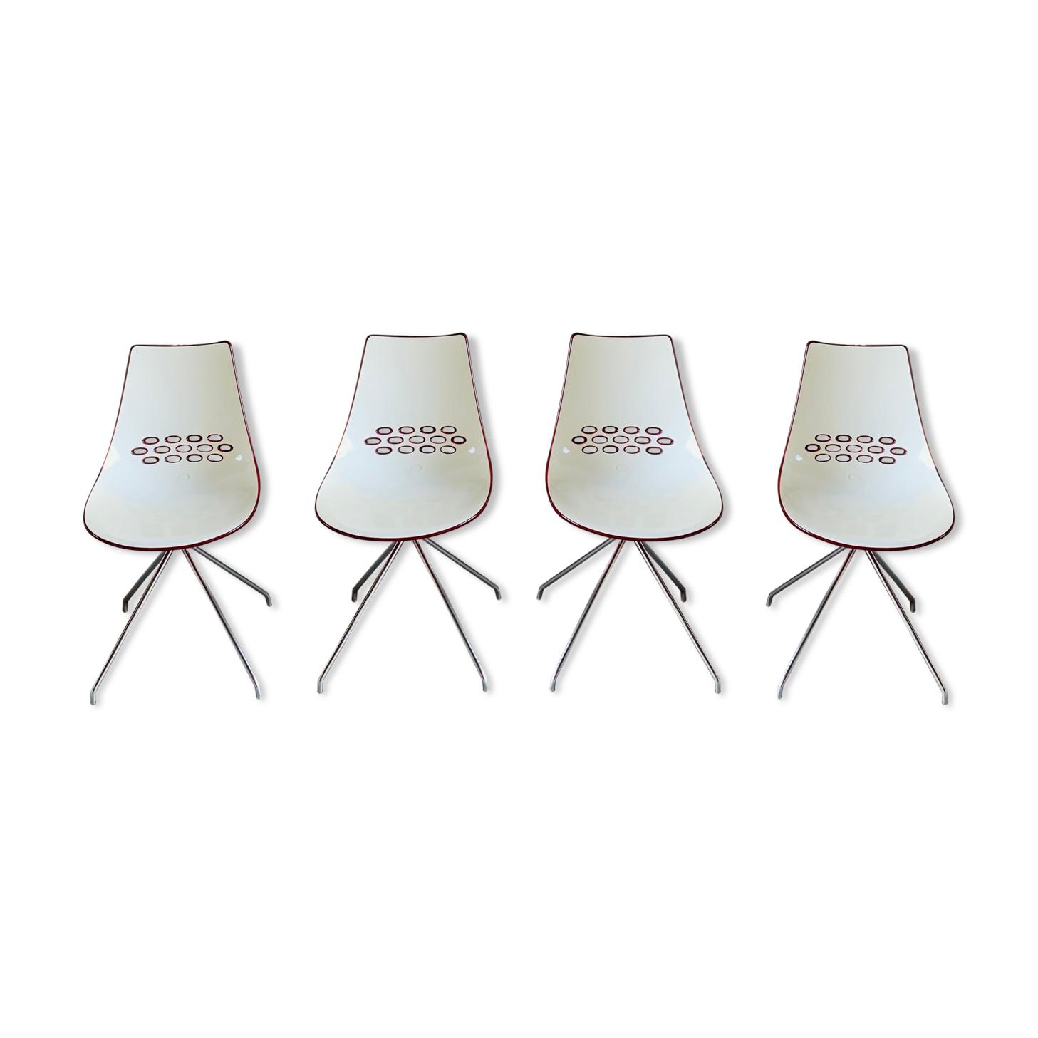4 chaises Jam d'Archirivolto pour Calligaris - 2000