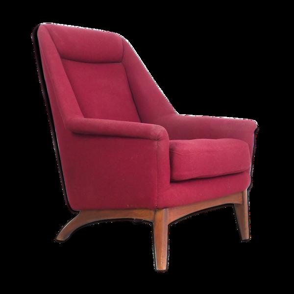 Fauteuil de design suédois vintage de Dux années 1950