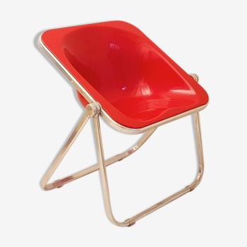"Chaise pliante ""Plona"" de Giancarlo Piretti pour Castelli, vers 1970, Italie"