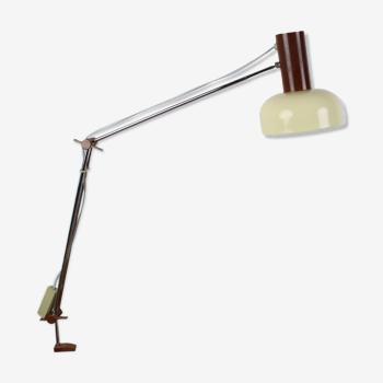 Lampe de table industrielle par Josef Hůrka pour Napako, années 1960