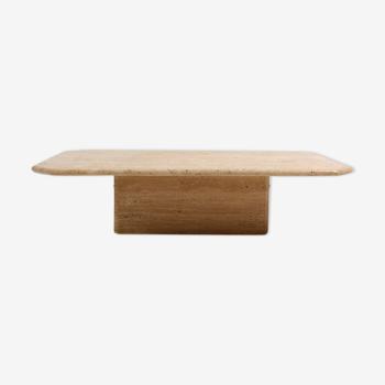 Table basse travertine fabriquée en Italie