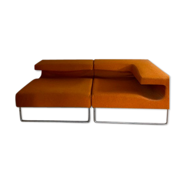 Selency Set de 2 fauteuils de Patricia Urquiola pour Moroso