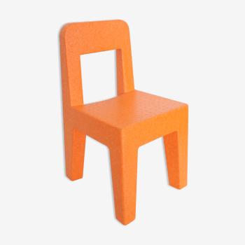 Enzo Mari model Seggiolina POP children's chair