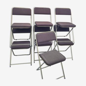 Lot 7 chaises lafuma