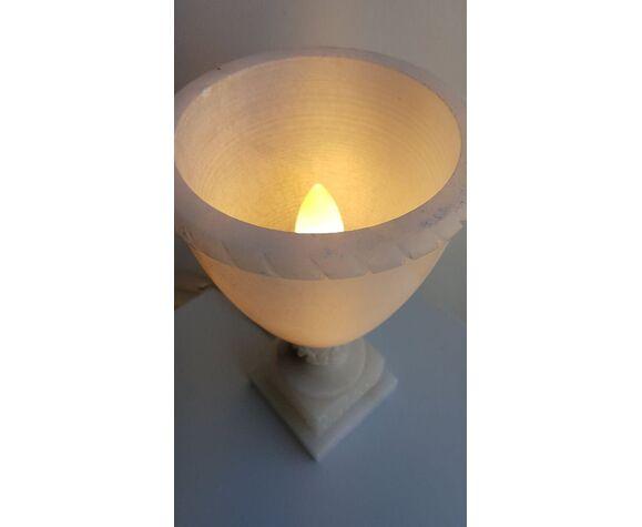 Lampe en marbre
