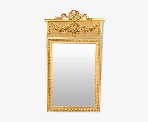 Miroir Trumeau style Louis XVI
