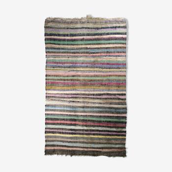Tapis kilim anatolien fait à la main 348 cm x 177 cm