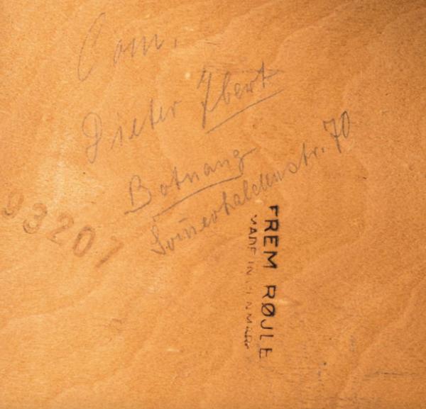 Ensemble par Hans Olsen pour Frem Røjle années 1960