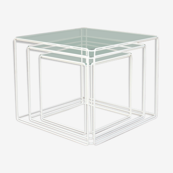 Pull out tables by Max Sauze published by Isocèle, France 1970