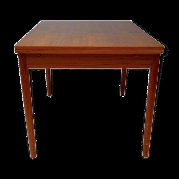 Selency Table de salle à manger en contreplaqué teck par Niels O. Møller pour J.L. Møllers