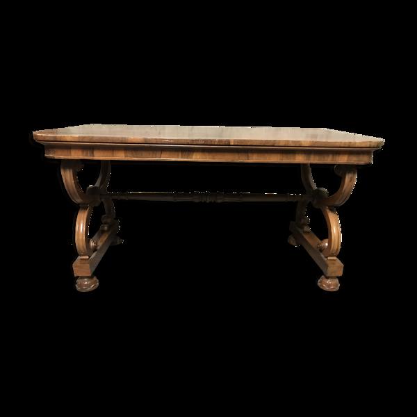 Table de milieu en palissandre anglais