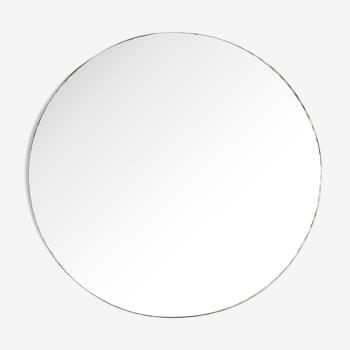 Miroir rond biseauté à poser diem 27,3cm