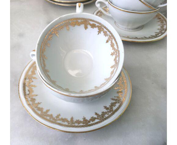 Service à café pour 10 porcelaine