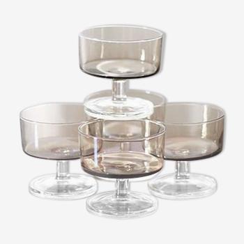 Luminarc Champagne Cups - set of 5