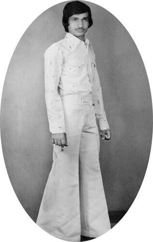 Portrait en blanc Jaipur
