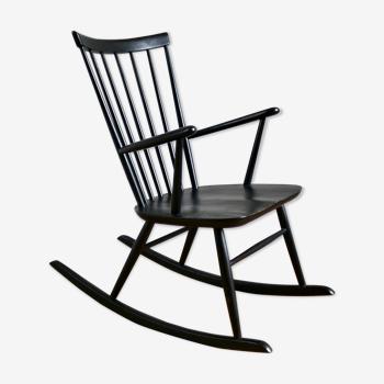 Rocking-chair scandinave Roland Reiner pour Hagafors, 1960