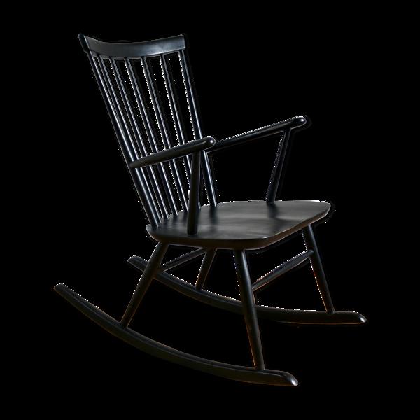 Selency Rocking-chair scandinave Roland Reiner pour Hagafors, 1960
