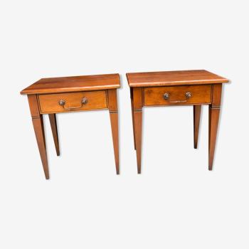 Paire de chevets art et meuble de France