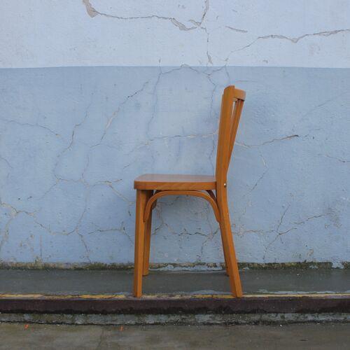 4 chaises Baumann modele éventail