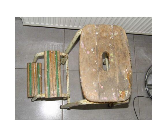 Escabeau atelier ancien