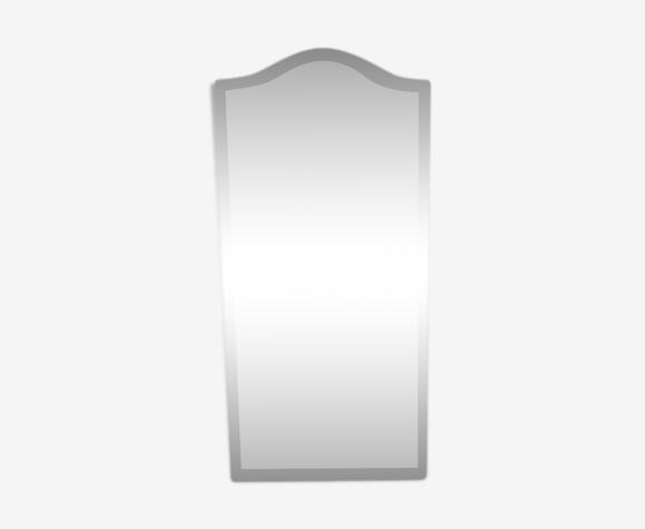 Miroir biseauté vintage 147x68