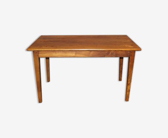 Elm bistro table late XIX